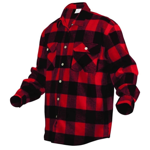 Hickory Shirt Co. Buffalo Plaid Flannel Shirt - Willapa Outdoor