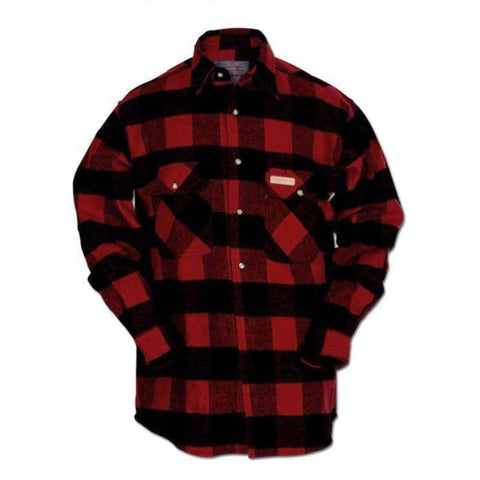 Hickory Shirt Co. Buffalo Plaid Lined Shirt Jacket - Willapa Outdoor
