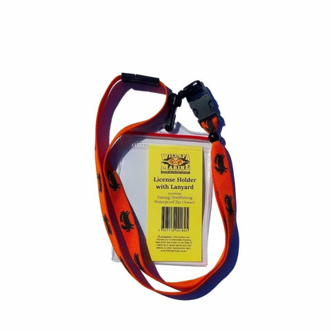 License Holder with Lanyard - Willapa Outdoor