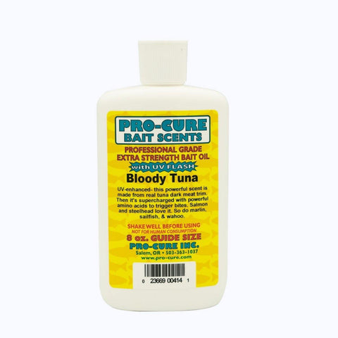Pro-Cure Bloody Tuna Bait Oil - Willapa Outdoor