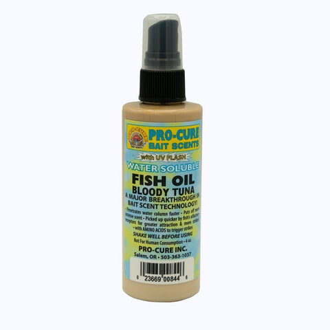 Pro-Cure Bloody Tuna Water Soluble Fish Oil - Willapa Outdoor