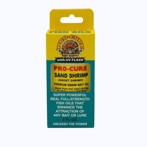 Pro-Cure Sand Shrimp (Ghost Shrimp) Bait Oil - Willapa Outdoor