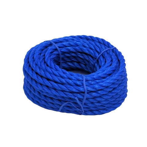 Twisted Poly Rope - Blue - Willapa Outdoor