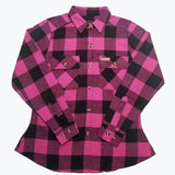 Women's Buffalo Plaid Flannel Shirt - Willapa Outdoor