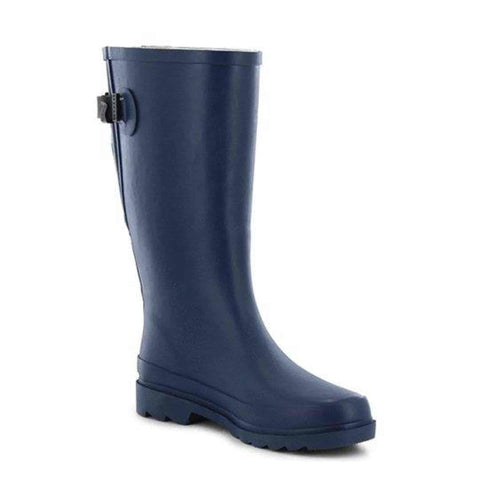 Western Chief Women's Flora Pop Vari-Fit Rain Boot - Navy - Willapa Outdoor
