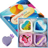 12/6/4pcs Rainbow Handmade Essential Oil Soap Sea Salt Bath Bomb