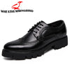 Luxury Concise Men Business Pointy Black Shoes