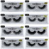 Mangodot Eyelash 3D Mink Eyelashes 1Pair Thick Fake Lashes Luxury HandMade Volume Lashes Extension Reusable False Eyelashes SD10