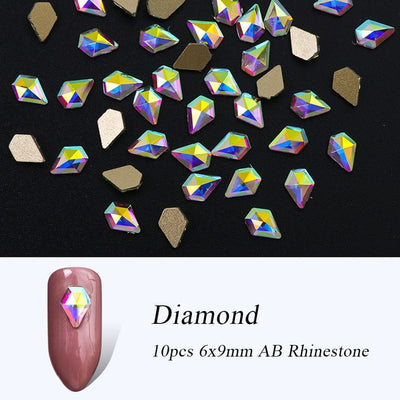 Crystal for Nail Art  Jewelry Diamond Nail Stone Decoration