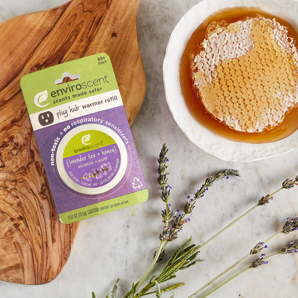 plug hub™ scent pod™ refill with lavender tea + honey scent cues