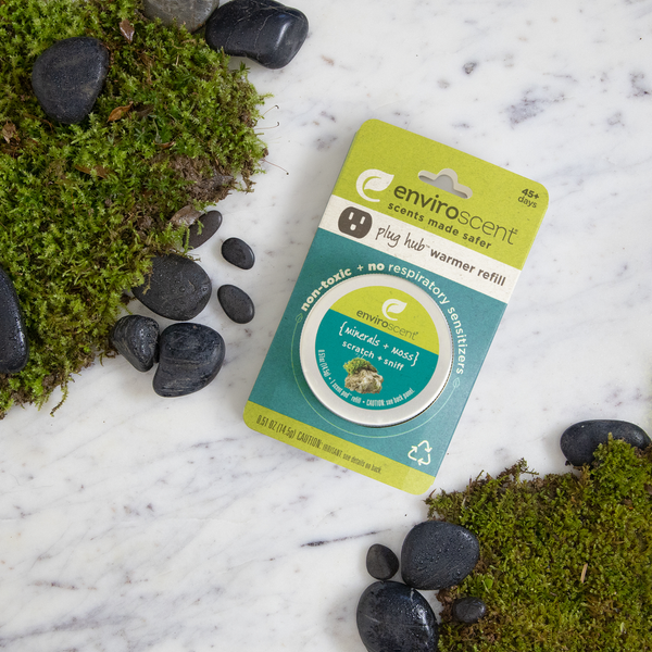 plug hub™ scent pod™ refill with mineral + moss scent cues