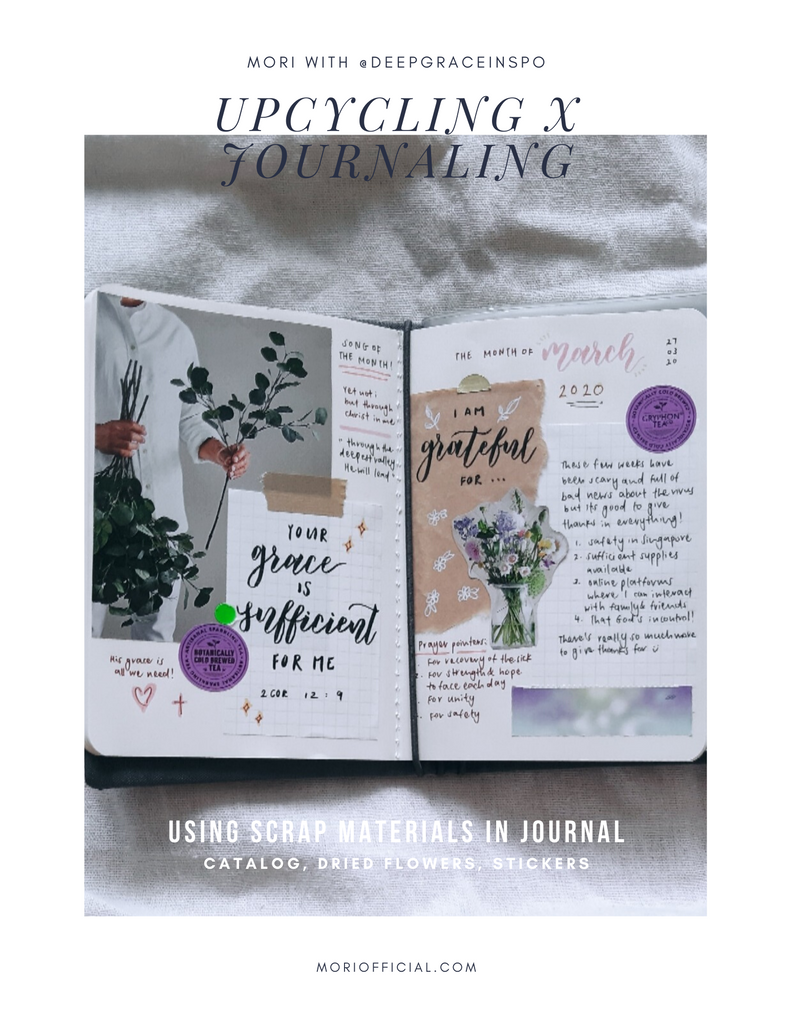 How to Upcycle Scrap Materials for Journaling