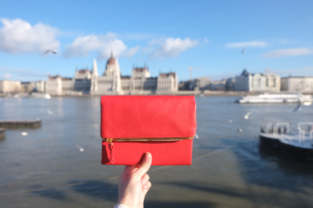 Red Leather Pursebook