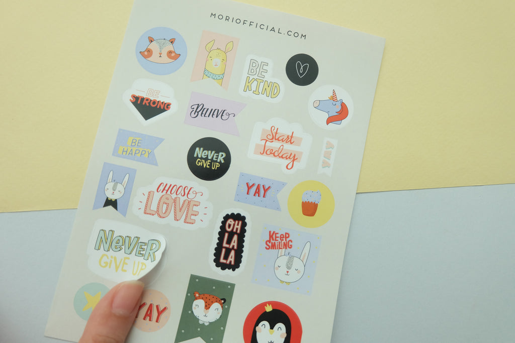 Choose Love (Colour) Stickers