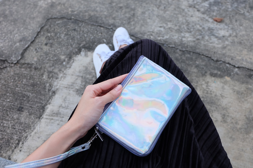 Holographic Dual Zip Pouch