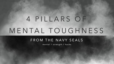 Mental Strength Hacks: 4 Pillars of Mental Toughness / Navy Seal Mental Training
