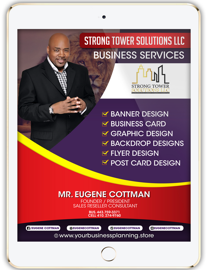 Graphic Design Services - Strong Tower Solutions LLC Business Services