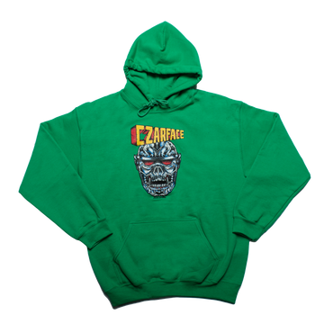 EVERY HERO NEEDS A HOODIE - GREEN