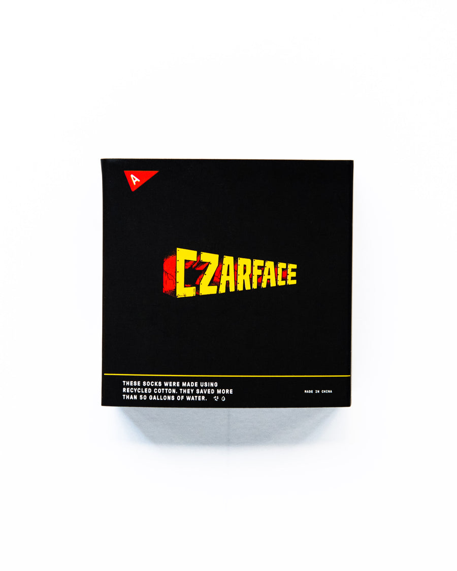 CZARFACE x ARVIN GOODS - Casual Black Sock