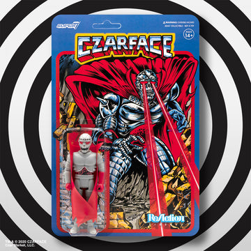 CZARFACE x SUPER 7 REACTION FIGURE - AVAILABLE NOV 30th