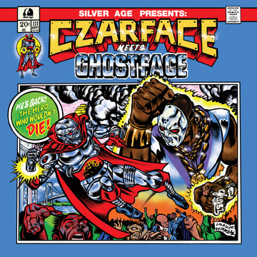 Czarface Meets Ghostface Cover - Canvas Wood - by Lamour Supreme