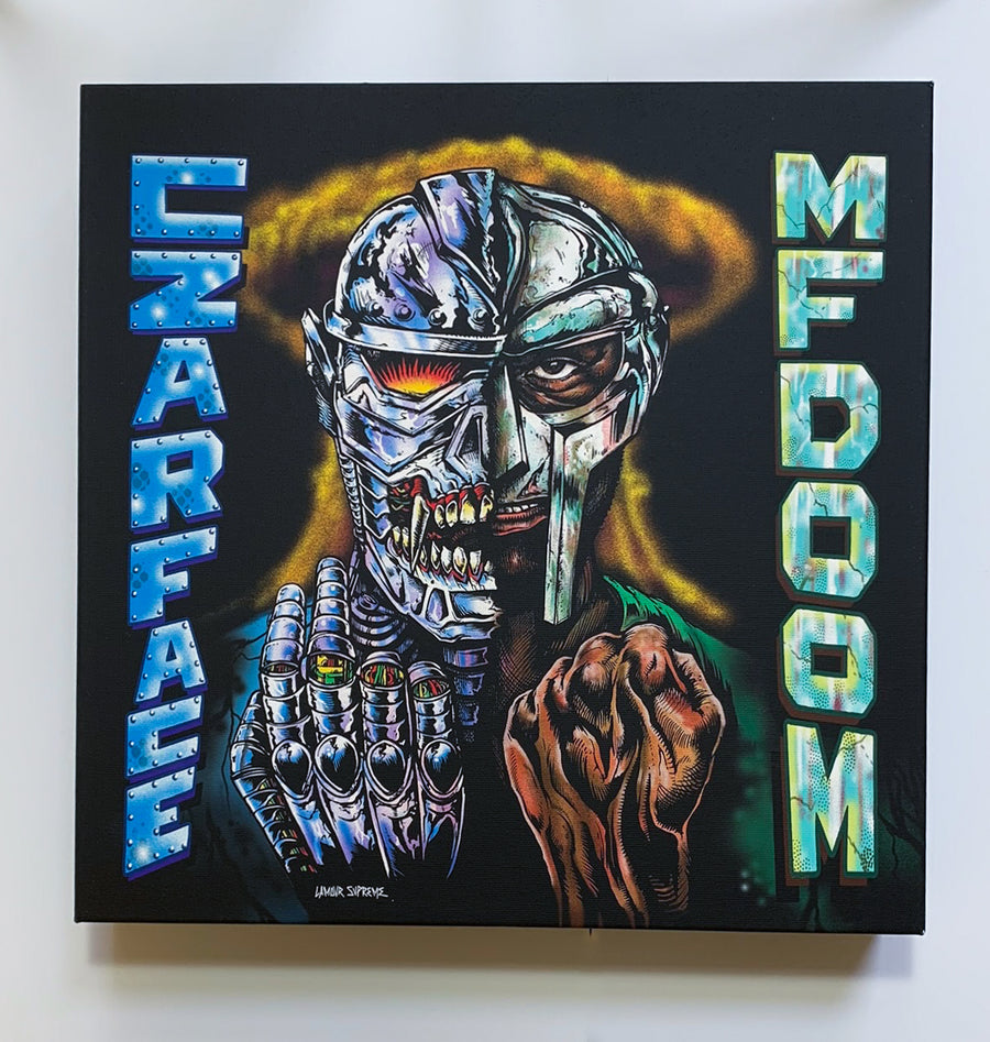 Czarface X MF Doom Alternative Cover