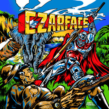 CZARFACE - DOUBLE DOSE OF DANGER (COMIC x LP SOUNDTRACK)