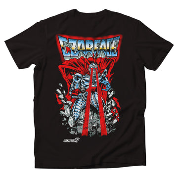 CZARFACE X SUPER 7 REACTION TEE - AVAILABLE NOV 30th