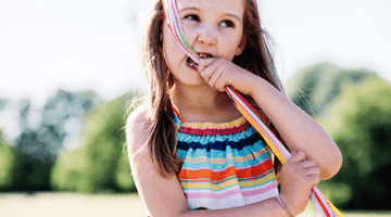 Signs that my child is an oral sensory seeker