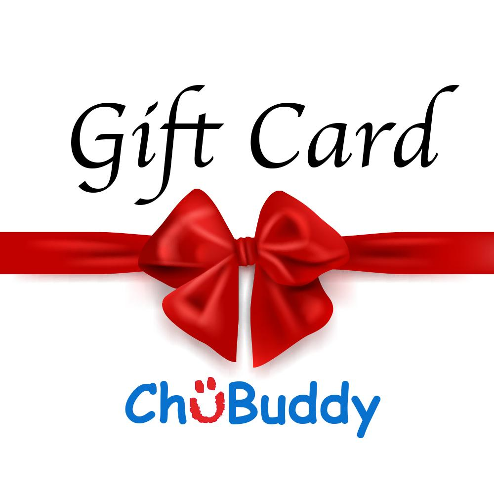 ChuBuddy Gift Card