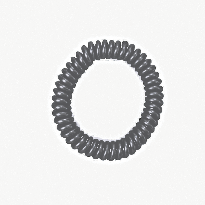 springz Chew Bracelet- Opaque Grey Color