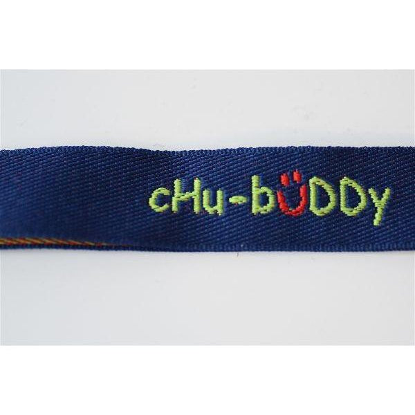 Chew Holder Embroidered Green with Grip Stixx* *Reg Mark Sensory University