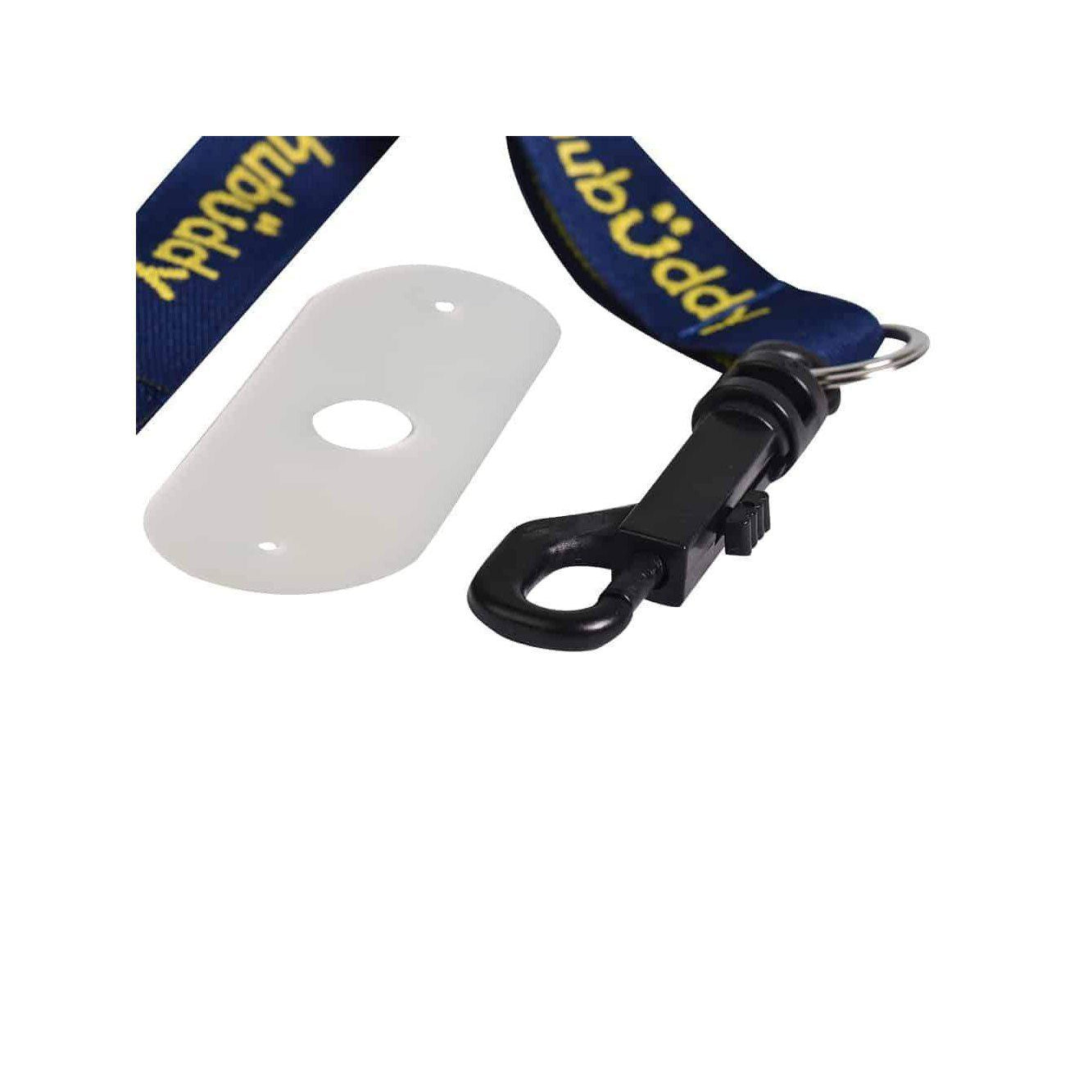 Chew Holder Embroidered Gold  with Grip Stixx* *Reg Mark Sensory University