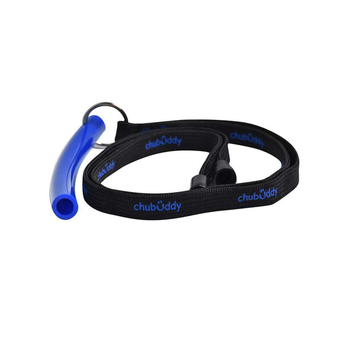 "Neck Lanyard With Strong Tube Regular 1/2"" Blue Color Neck Lanyard And Strong Tube Regular Chubuddy"
