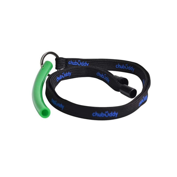 "Neck Lanyard With Strong Tube Slim 3/8"" Green Color"