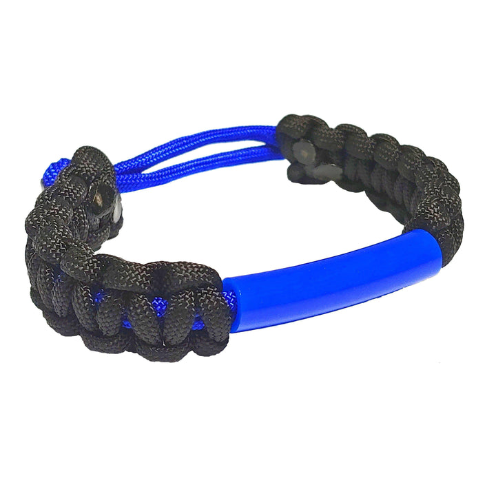 Parachewer Bracelet Blue, non-toxic, ballistic nylon bracelet with Slim Strong Tube- IMPORTANT: Pick correct size using the sizing chart- PARACHWR-BLU Bracelets Chubuddy