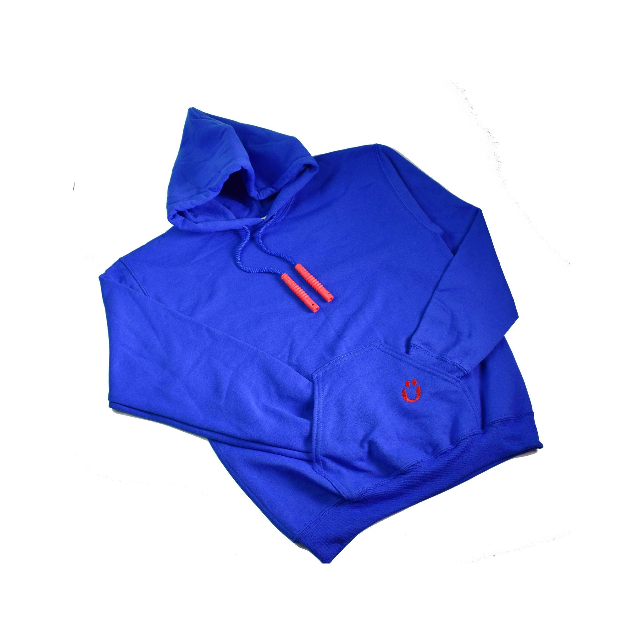 Chubuddy Hood Zilla Royal Blue Adult S, M, L, XL with Red Cord Zillas for discreet, convenient chewing and calming