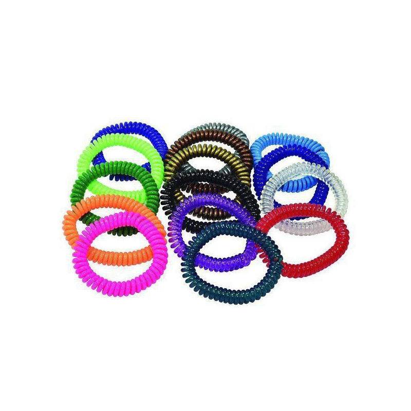 springz Chew Bracelet- Clear Purple Color