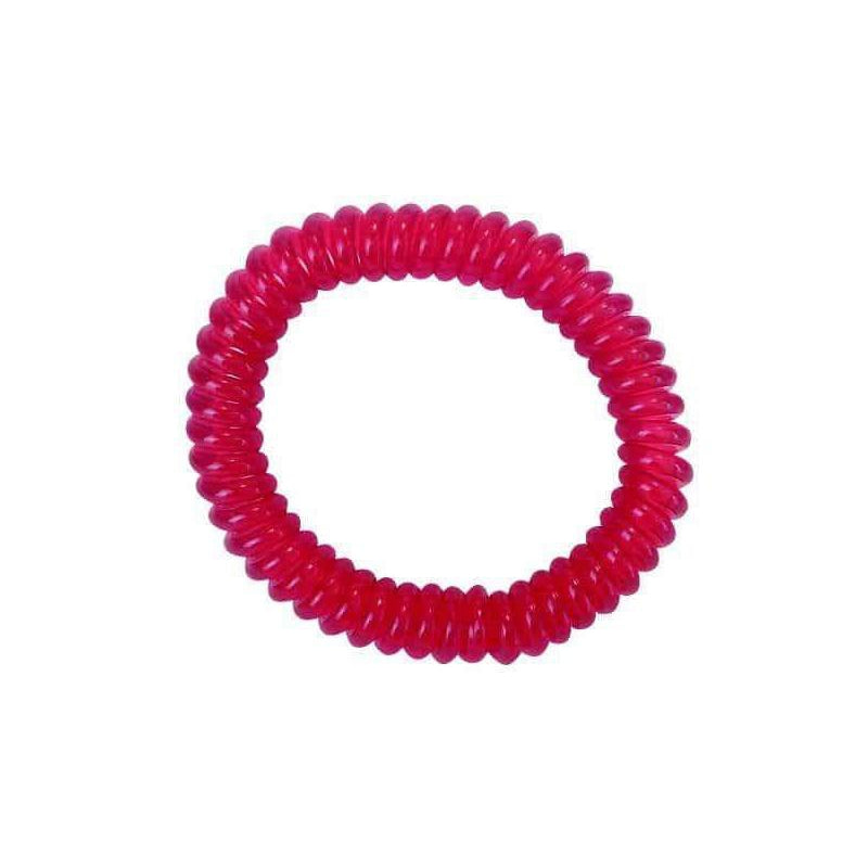 springz Chew Bracelet- Clear Red Color