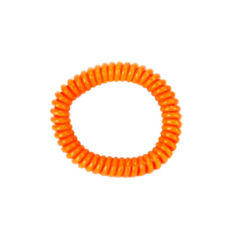 springz Chew Bracelet- Orange Color