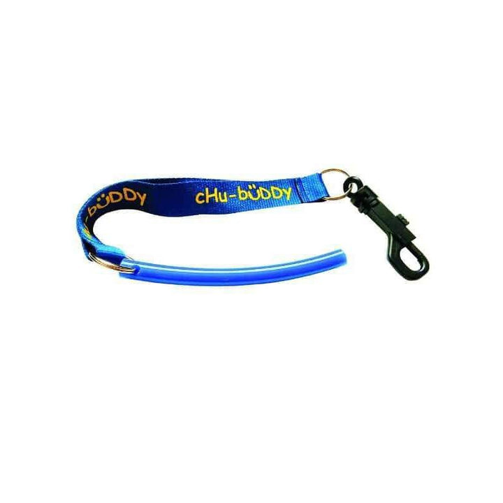 "Strong Tube Slim 3/8"" Clip On- Blue Color Strong chews Chubuddy"