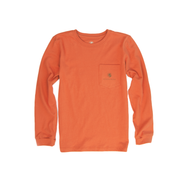 Boys - Camo Lab Long Sleeve Tee: Maple