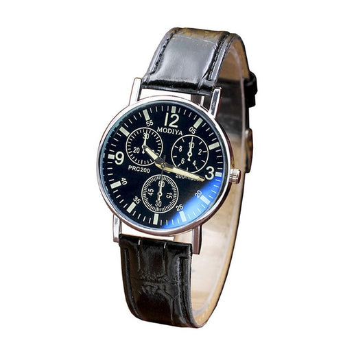 Polished Leather Watch