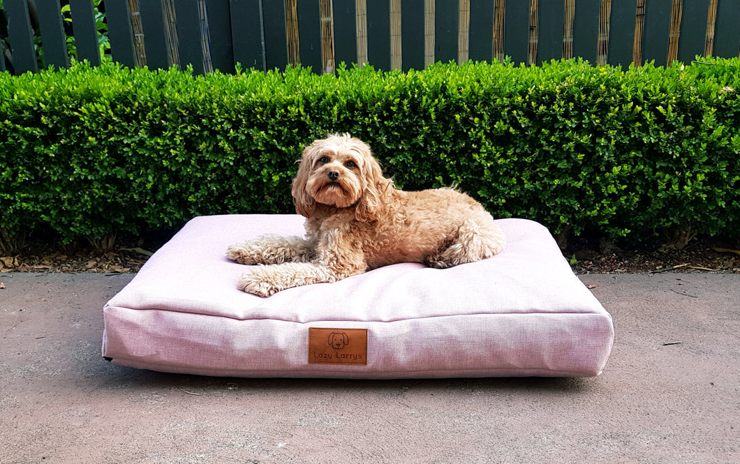Pink Pupper Dog Bed