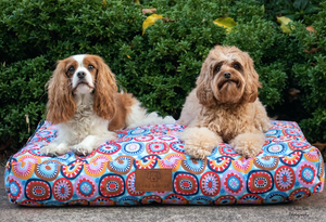 The circles of life Dog Bed