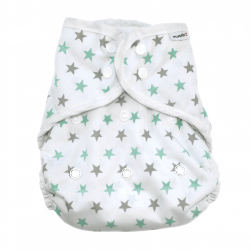 MuslinZ Waterproof Nappy Cover Size 2