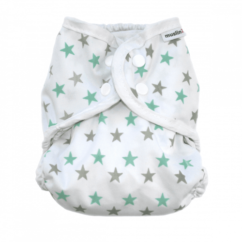 MuslinZ Waterproof Nappy Cover Size 1
