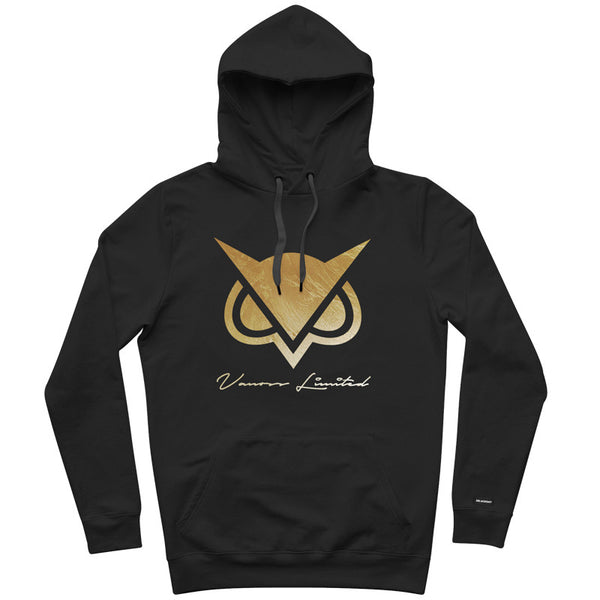 SOLD OUT - LIMITED EDITION VANOSS™ Gold Foil Logo Hoodie