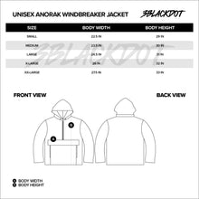 VANOSS® | WIREFRAME ANORAK WINDBREAKER JACKET (BLACK) LIMITED EDITION