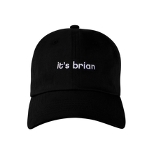 VANOSS® | it's brian DAD HAT (BLACK)